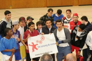 """Gut gelaunt und mittendrin - """"be young & roma"""""""