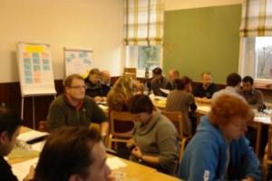 Arbeitsgruppen und Diskussionen zur inhaltlichen Arbeit der djoNRW.